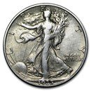 1935-D Walking Liberty Half Dollar AU