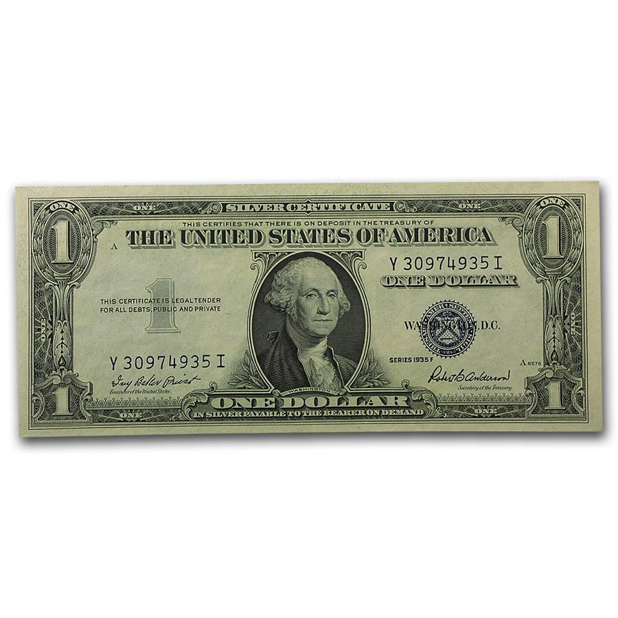 1935-F $1.00 Silver Certificate CCU (Fr#1615)