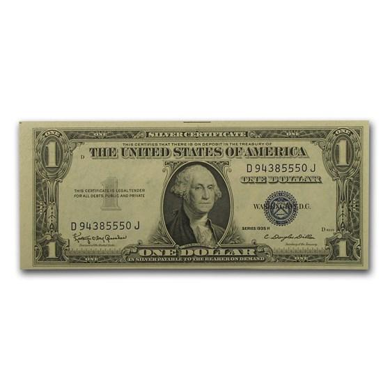 1935-H $1.00 Silver Certificate CU