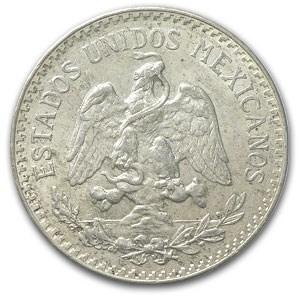 1935 Mexico Silver 50 Centavos Avg Circ (ASW .1077)
