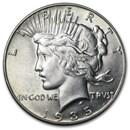 1935 Peace Dollar AU-58