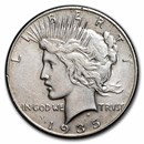 1935 Peace Dollar XF (Cleaned)