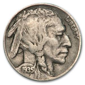 1935-S Buffalo Nickel VF