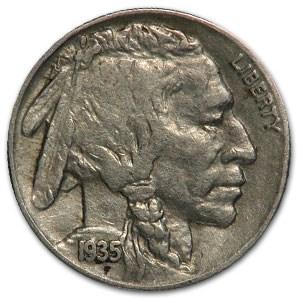 1935-S Buffalo Nickel XF