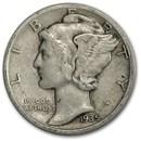 1935-S Mercury Dime Fine/VF