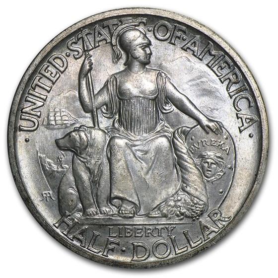 1935-S San Diego Commemorative Half BU