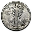 1935-S Walking Liberty Half Dollar VG/VF