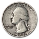 1935-S Washington Quarter Good/Fine