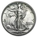 1935 Walking Liberty Half Dollar AU