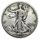 1935 Walking Liberty Half Dollar VG/VF