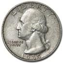 1935 Washington Quarter Good/Fine