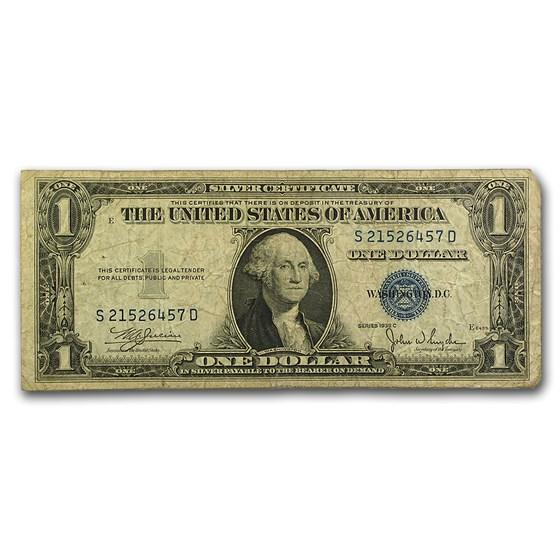 1935's $1.00 Silver Certificates Culls