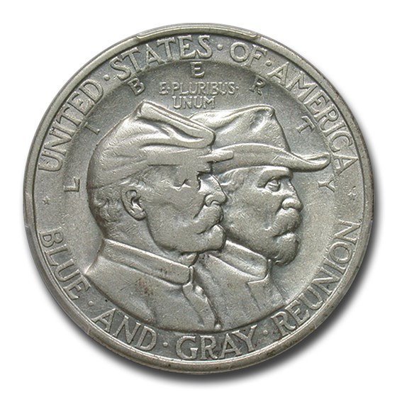 1936 Battle of Gettysburg Half Dollar Commem XF-45 PCGS