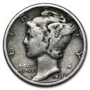 1936-D Mercury Dime VG/VF