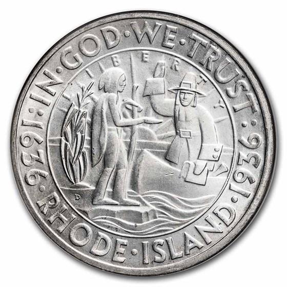 1936-D Rhode Island Half Dollar MS-65 NGC