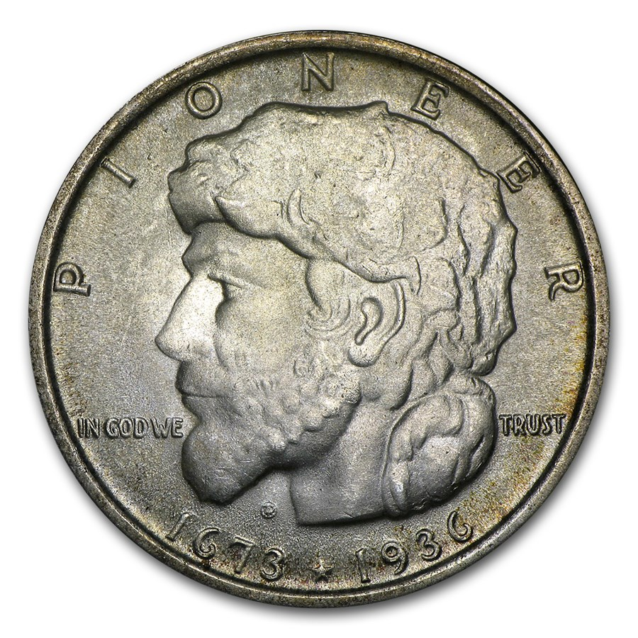 1936 Elgin, Illinois Centennial Half Dollar BU