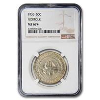 1936 Norfolk, VA Half Dollar MS-67+ NGC