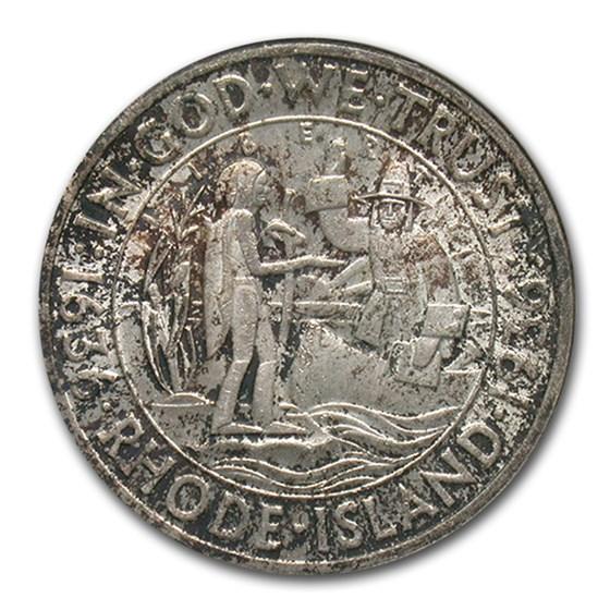 1936 Rhode Island Half Dollar Commem MS-63 NGC