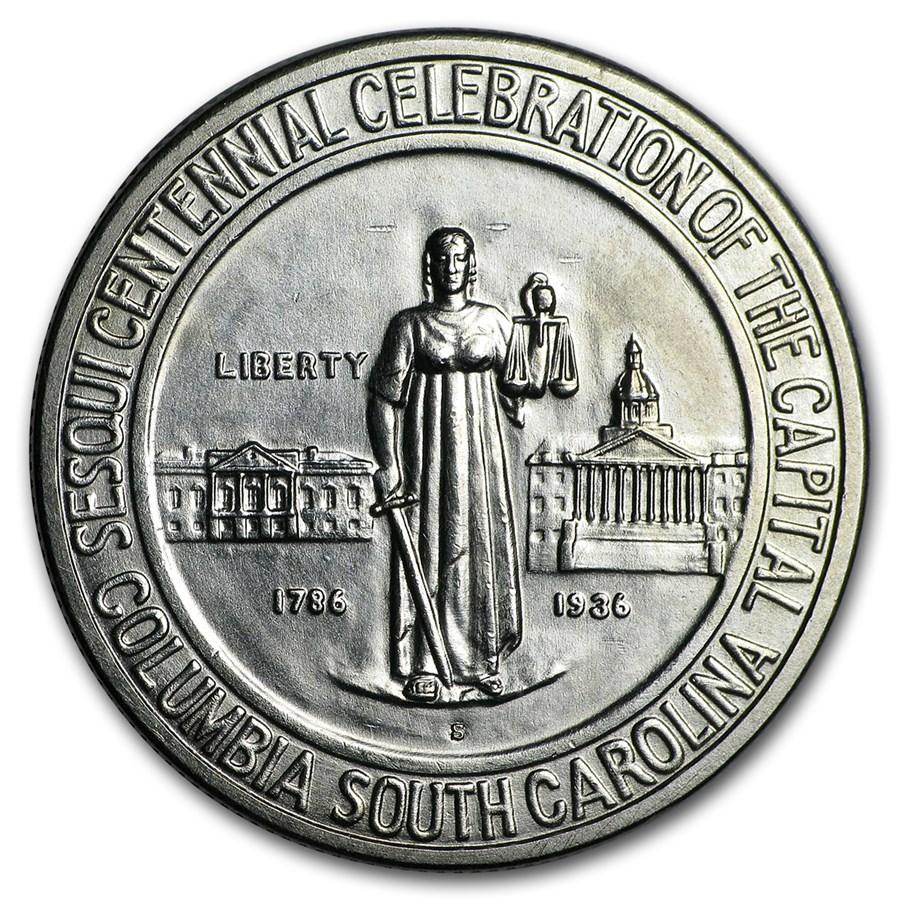 1936-S Columbia Commemorative Half BU