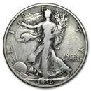 1936-S Walking Liberty Half Dollar VG/VF