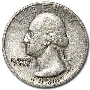 1936 Washington Quarter Good/VF