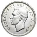 1937-1952 Canada Silver Dollar XF
