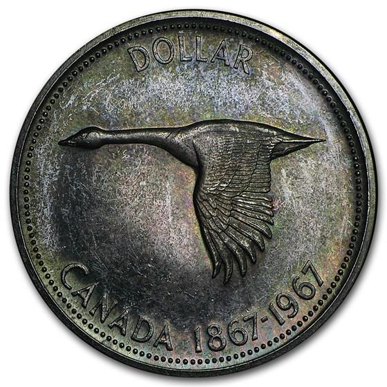 1937-1967 Canada Silver Dollar (Culls)