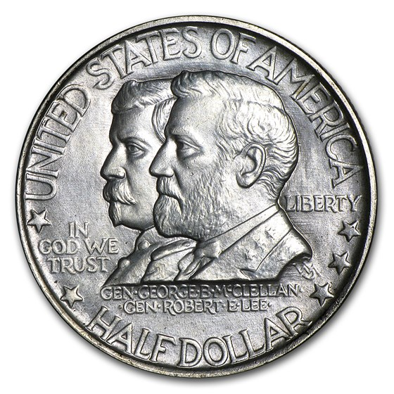 1937 Antietam Half Dollar Commem BU