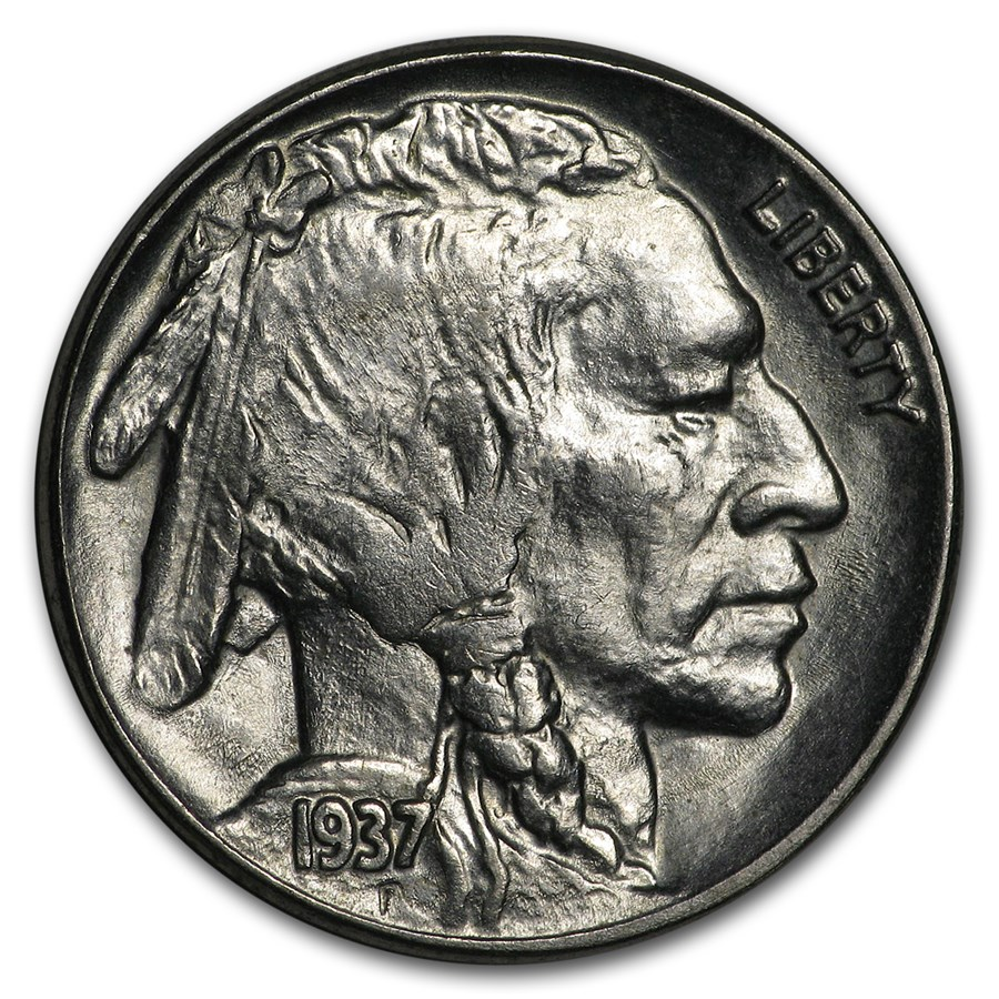 1937 Buffalo Nickel BU