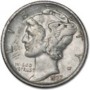 1937-D Mercury Dime XF