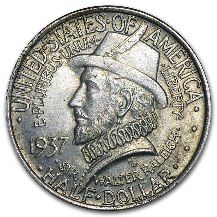 1937 Roanoke Island Half Dollar BU