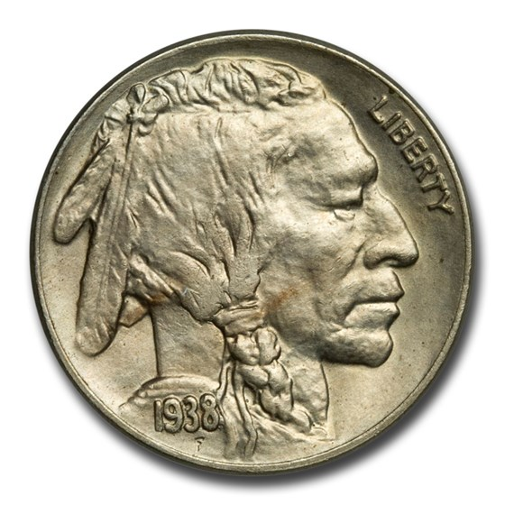 1937-S Buffalo Nickel Choice AU