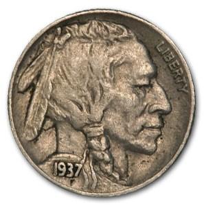 1937-S Buffalo Nickel XF