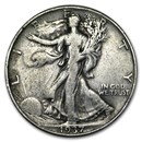 1937 Walking Liberty Half Dollar VG/VF