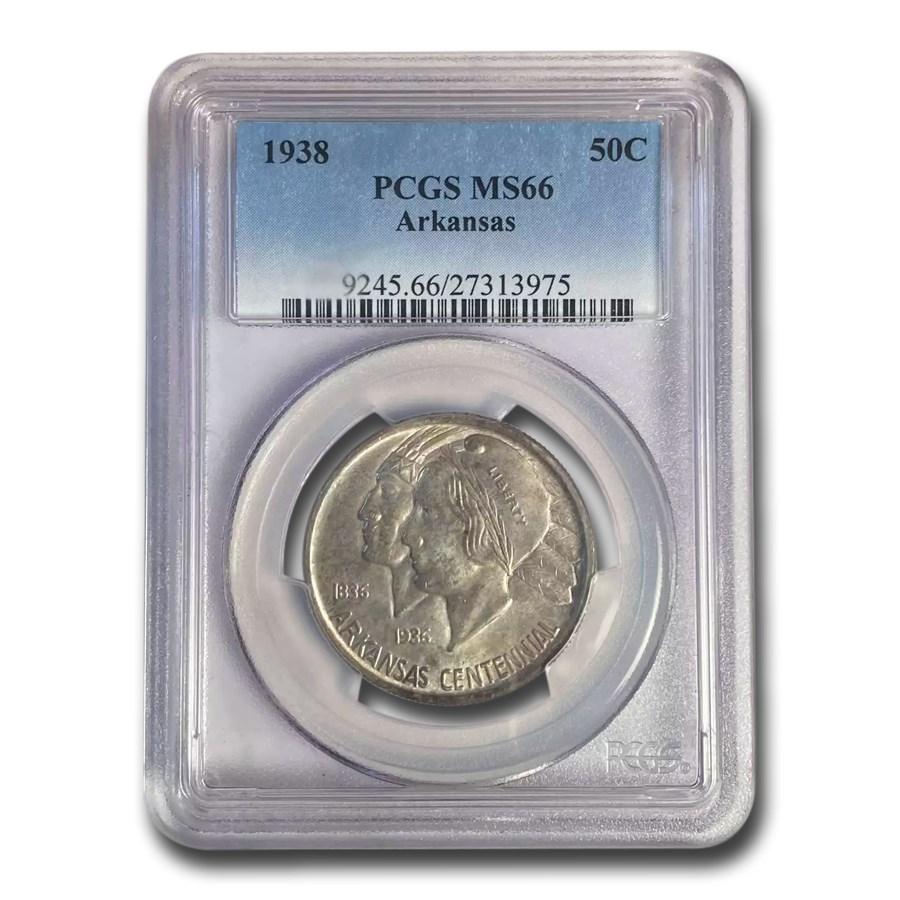 1938 Arkansas Half Dollar MS-66 PCGS