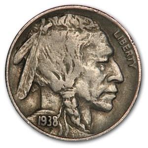 1938-D Buffalo Nickel VF