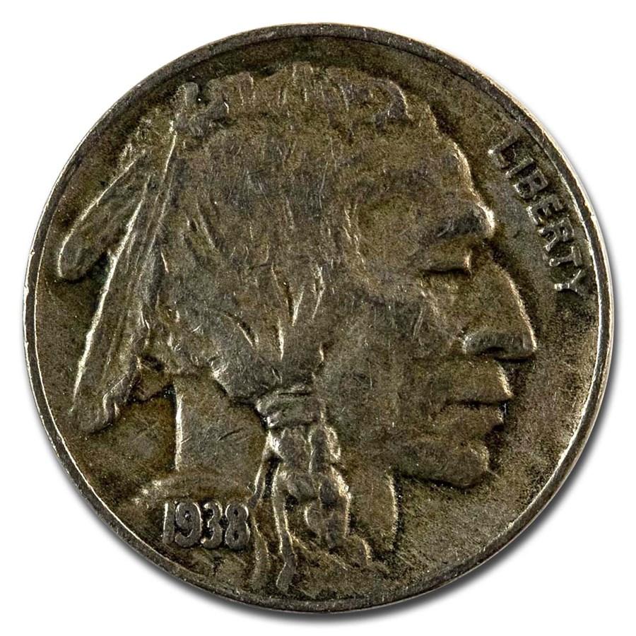1938-D Buffalo Nickel XF