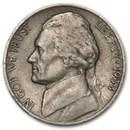 1938-D Jefferson Nickel Avg Circ