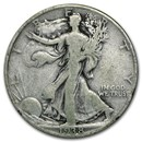 1938-D Walking Liberty Half Dollar Good