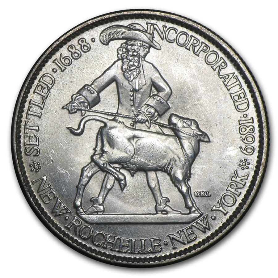 1938 New Rochelle Half Dollar BU