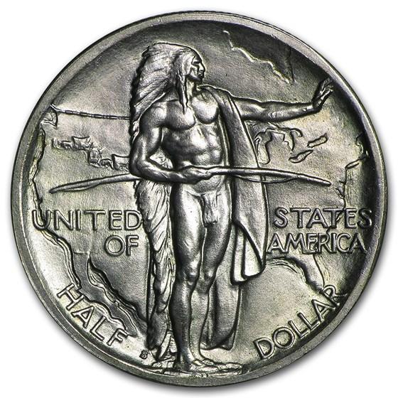 1938-S Oregon Trail Memorial Half Dollar Commem Half BU