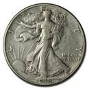 1938 Walking Liberty Half Dollar XF