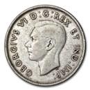 1939 Canada Silver 50 Cents George VI XF
