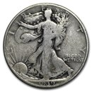 1939-D Walking Liberty Half Dollar VG/VF