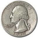 1939-D Washington Quarter Good/VF