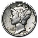 1939 Mercury Dime XF/AU