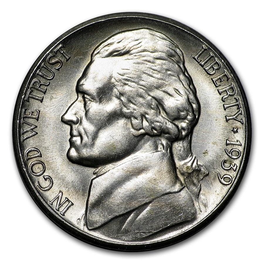 1939-S Jefferson Nickel BU