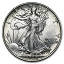 1939 Walking Liberty Half Dollar AU