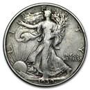 1939 Walking Liberty Half Dollar VG/VF