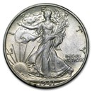 1940-1947 Walking Liberty Half Dollar AU (Random)